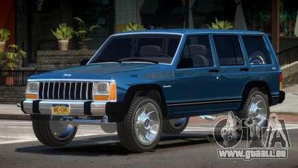 1990 Jeep Cherokee V1.0 pour GTA 4