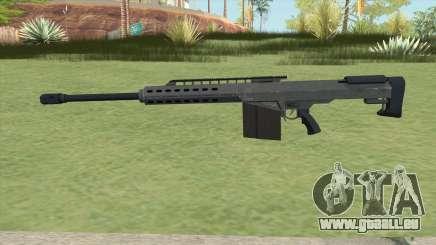 Heavy Sniper GTA V (LSPD) V2 pour GTA San Andreas