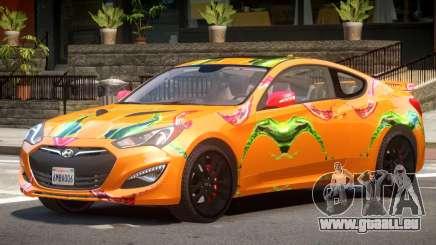 Hyundai Genesis CV PJ1 pour GTA 4