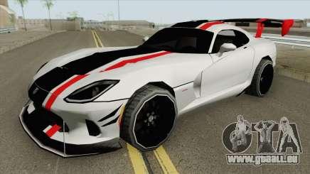 Dodge Viper ACR 2016 MQ für GTA San Andreas