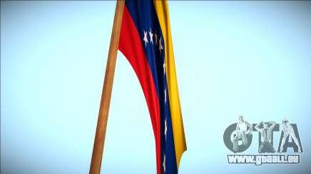 Flagge Venezuela in mount Chiliad Remastered für GTA San Andreas