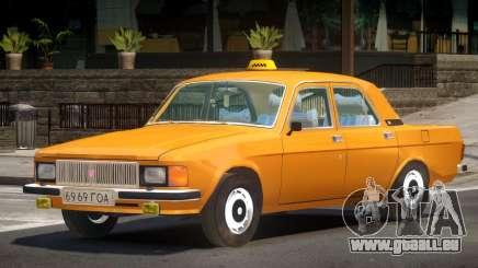 GAZ 3102 Taxi V1.0 pour GTA 4