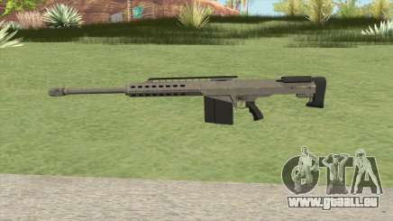 Heavy Sniper GTA V (Platinum) V2 pour GTA San Andreas