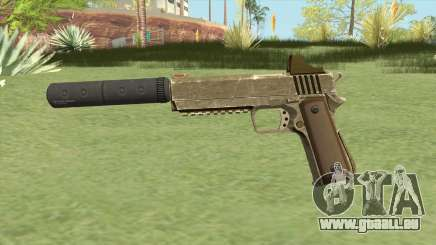 Heavy Pistol GTA V (Army) Suppressor V1 für GTA San Andreas
