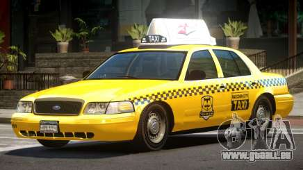 1993 Ford Crown Victoria Taxi für GTA 4