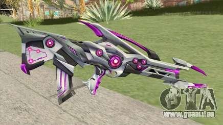 Famas (Black Widow Purple) für GTA San Andreas