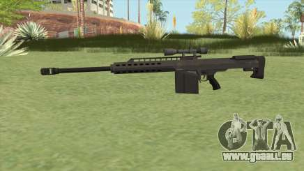 Heavy Sniper GTA V (Black) V3 für GTA San Andreas