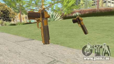 Heavy Pistol GTA V (Gold) Base V1 pour GTA San Andreas