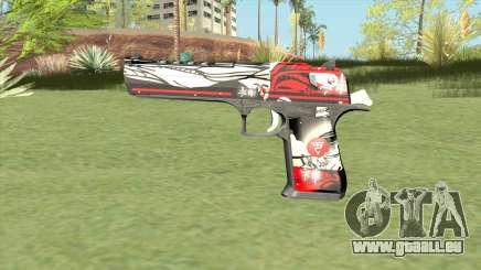 Desert Eagle (Graffiti) für GTA San Andreas