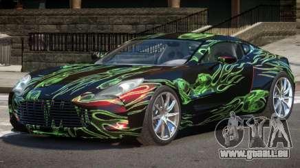 Aston Martin One 77 PJ1 pour GTA 4