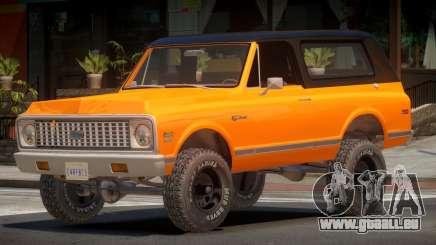 Chevrolet Blazer Off-Road pour GTA 4