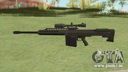 Heavy Sniper GTA V (Green) V1 für GTA San Andreas