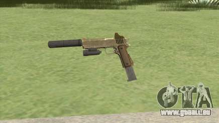 Heavy Pistol GTA V (Army) Full Attachments pour GTA San Andreas