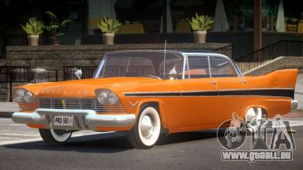 Plymouth Belvedere Old pour GTA 4