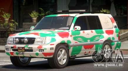 Toyota Land Cruiser Rally Cross PJ5 pour GTA 4