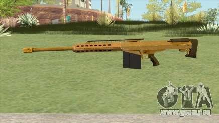 Heavy Sniper GTA V (Gold) V2 pour GTA San Andreas