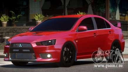 Mitsubishi Evolution X V1.1 für GTA 4