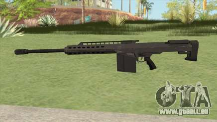 Heavy Sniper GTA V (Black) V2 für GTA San Andreas