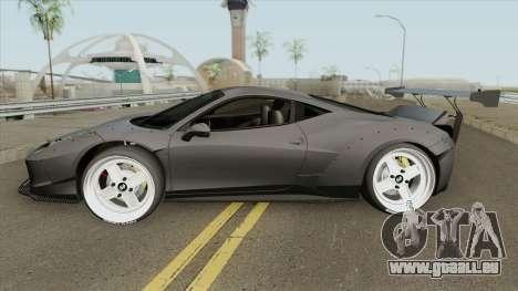 Ferrari 458 (LB-WALK) pour GTA San Andreas