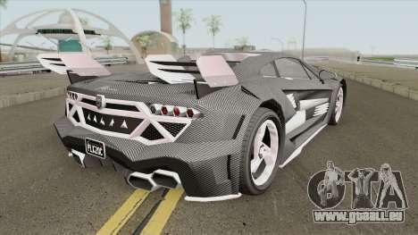 Pegassi Lampo K20 (Carbon) GTA V pour GTA San Andreas