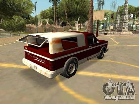 Schale Bobcat Farmtruck (Abzeichen & Extras) für GTA San Andreas