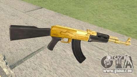 AK-47 (Gold) pour GTA San Andreas