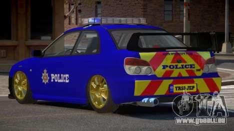 Subaru Impreza RS Police pour GTA 4