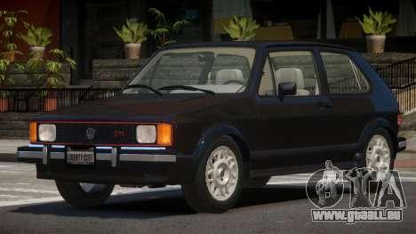 Volkswagen Rabbit V1.0 pour GTA 4