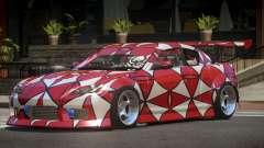 Mazda RX-8 V1.1 PJ2 pour GTA 4