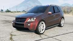 Mercedes-Benz ML 63 AMG Kriminalpolizei pour GTA 5