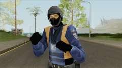 Beta Swat Skin (GTA Vice City) pour GTA San Andreas