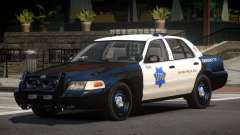 Ford Crown Victoria CR Police pour GTA 4