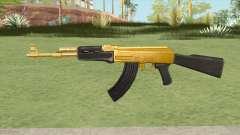 AK-47 (Gold) für GTA San Andreas