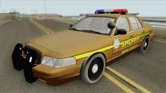 Ford Crown Victoria 2011 (Bone County Sheriff)
