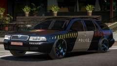 Skoda Octavia LS Police für GTA 4