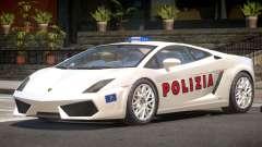 Lambo Gallardo SR Police pour GTA 4