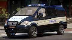 Mercedes Benz Vito Police
