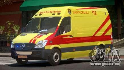 Mercedes Benz Sprinter Ambulance pour GTA 4