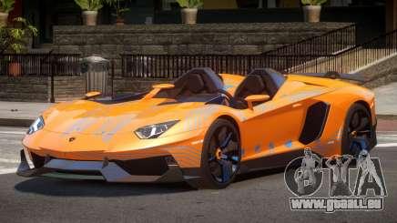 Lamborghini Aventador Spider SR PJ4 pour GTA 4