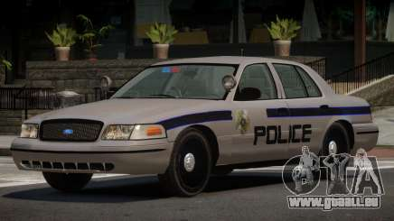 Ford Crown Victoria RS Police pour GTA 4