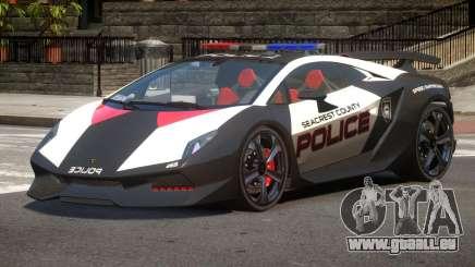 Lamborghini SE Police V1.2 pour GTA 4
