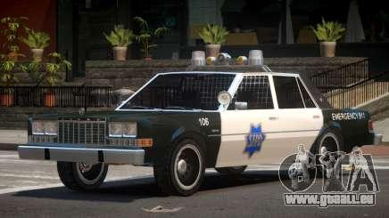 Dodge Diplomat Police V1.5 für GTA 4