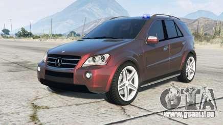 Mercedes-Benz ML 63 AMG Kriminalpolizei für GTA 5