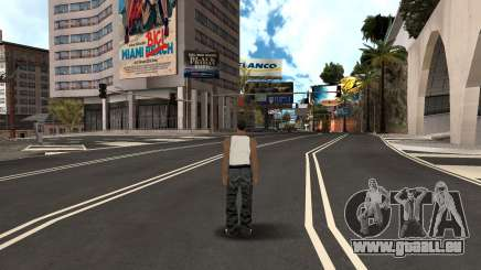 Roumain HQ Routes v2 pour GTA San Andreas