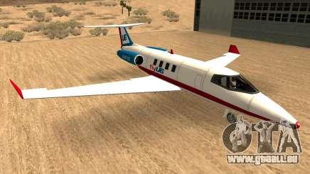 Buckinghan Shamal-Louxor V2 (Compagnies Aériennes Chante) pour GTA San Andreas
