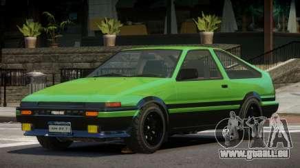 Toyota Trueno ST pour GTA 4