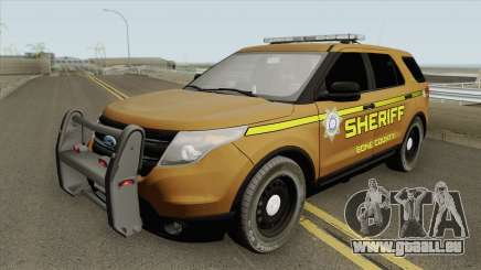 Ford Explorer 2012 (Bone County Sheriff) pour GTA San Andreas