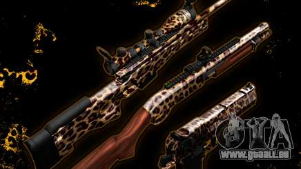 Leopard-Waffen-Pack-Rework-2020 für GTA San Andreas