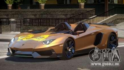 Lamborghini Aventador J V1.1 pour GTA 4