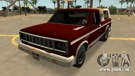 Insipide Bobcat Farmtruck (Badges & Extras) pour GTA San Andreas